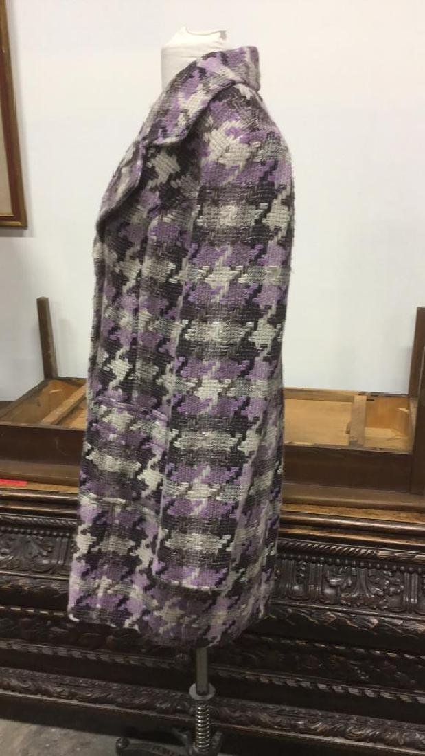 TRIBAL INC. Collared Knit Coat - 3