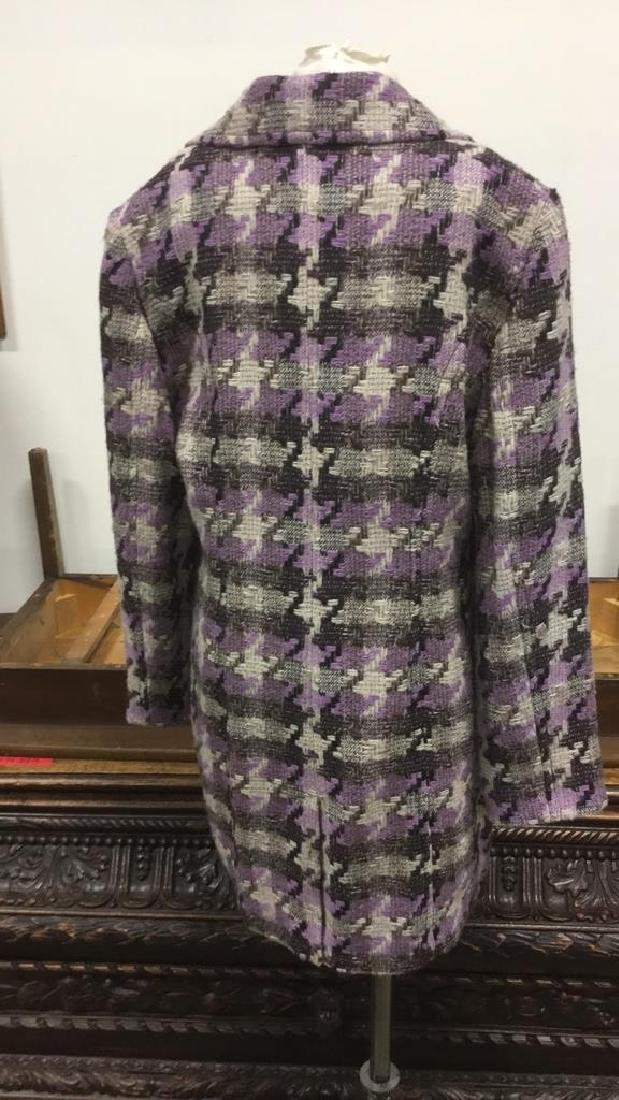 TRIBAL INC. Collared Knit Coat - 4