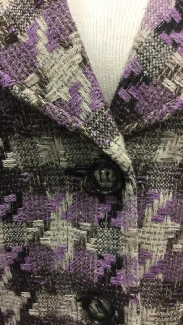 TRIBAL INC. Collared Knit Coat - 5