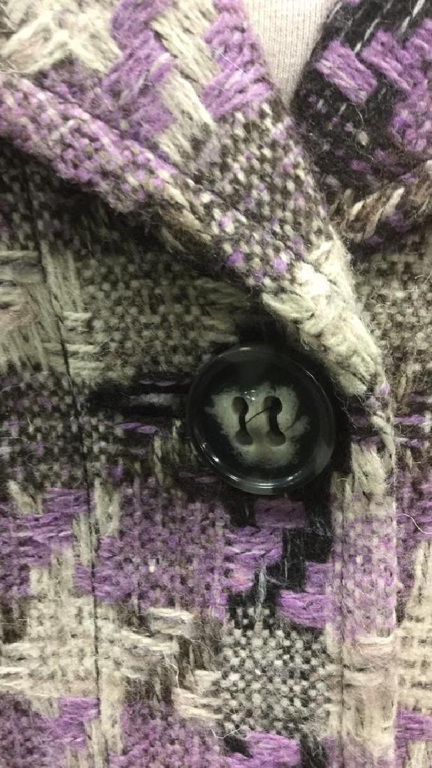TRIBAL INC. Collared Knit Coat - 6