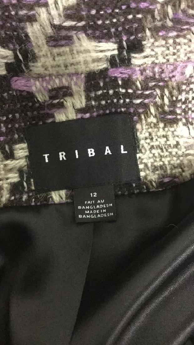 TRIBAL INC. Collared Knit Coat - 9