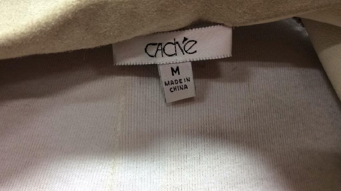 CACHÉ Women's Leather Jacket Medium - 10