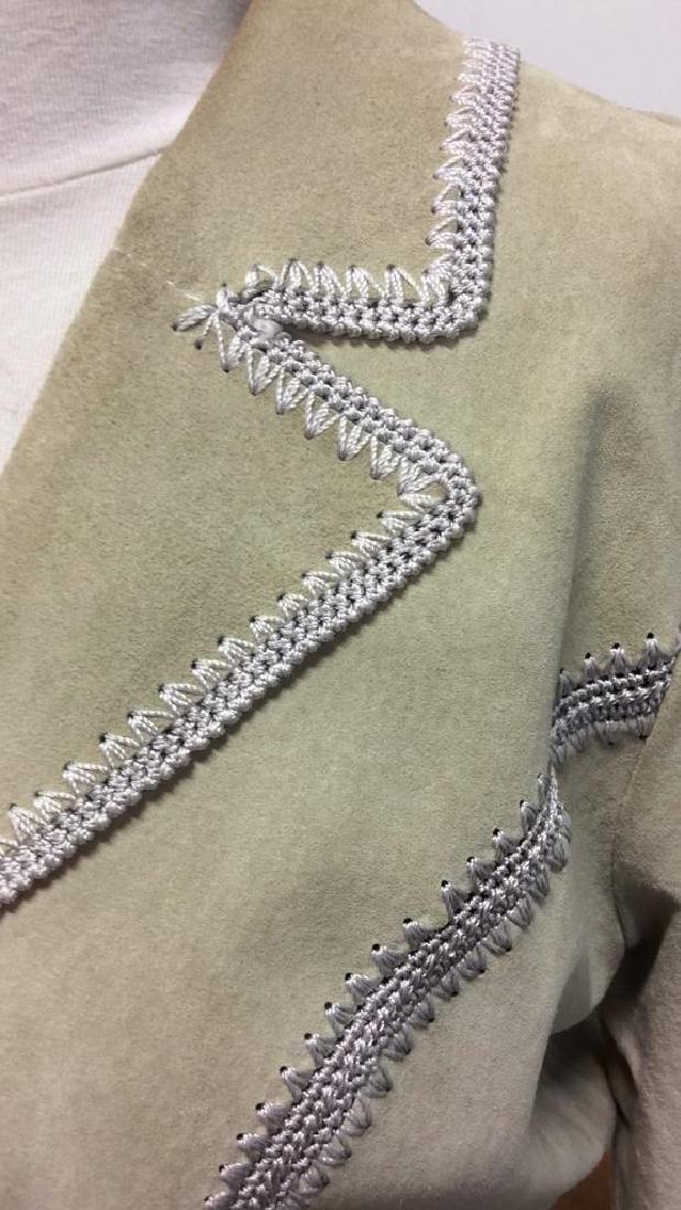 CACHÉ Women's Leather Jacket Medium - 2