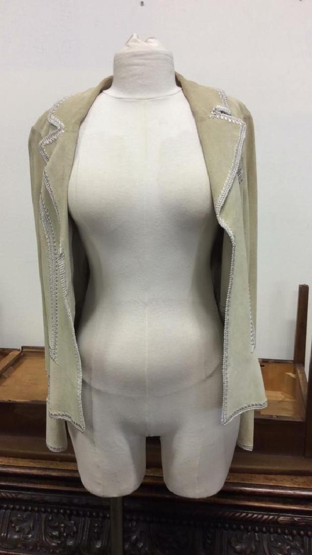 CACHÉ Women's Leather Jacket Medium - 9