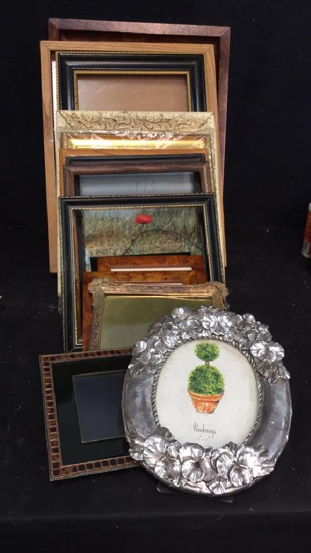 lot 15 Assorted Picture Frames