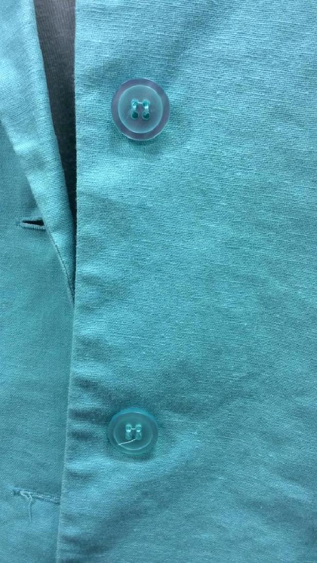 CHADWICKS Size 14 Teal Toned Blazer - 7