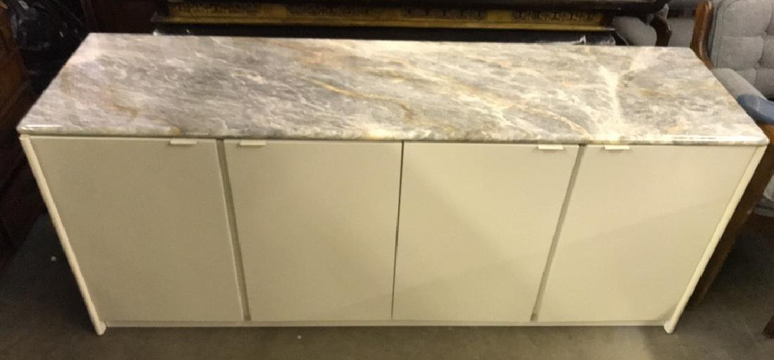 Maurice Villency Marble Counter Top Cabinet - 2