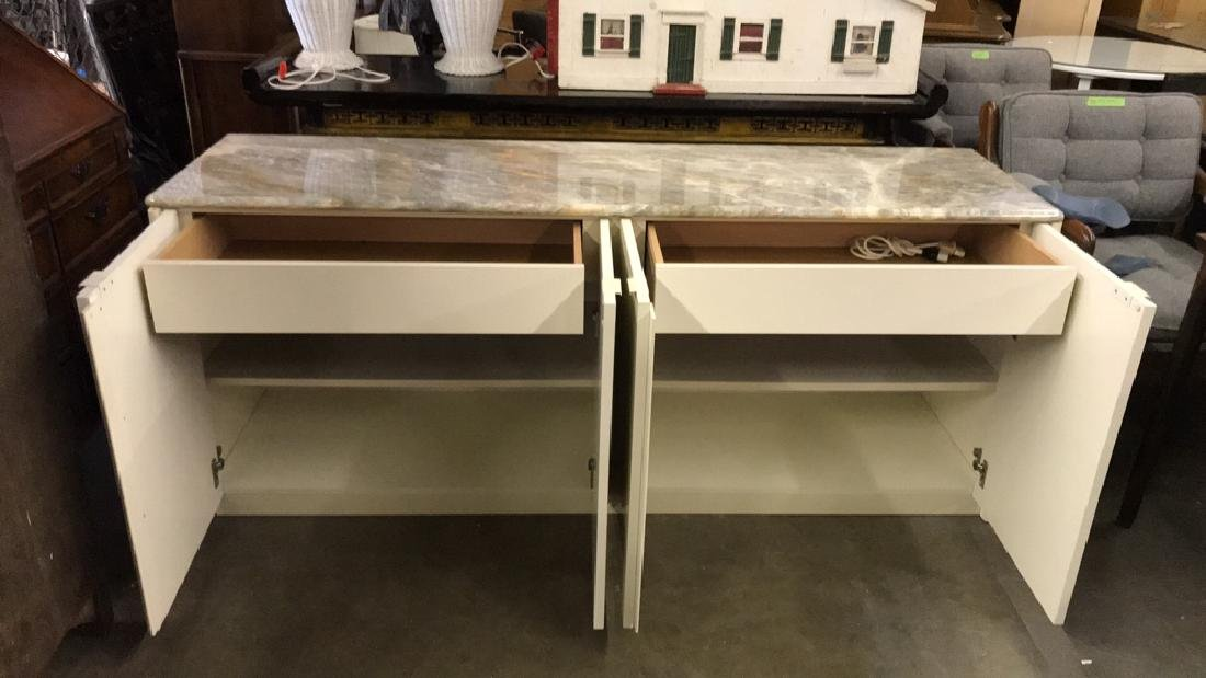 Maurice Villency Marble Counter Top Cabinet - 5