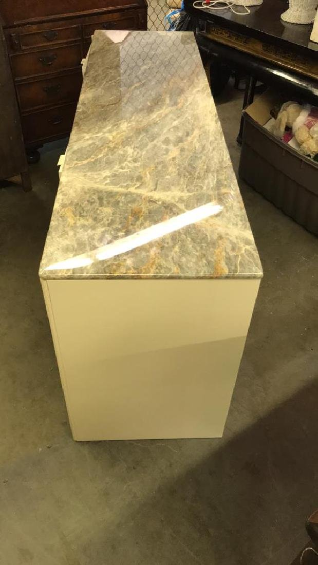 Maurice Villency Marble Counter Top Cabinet - 7