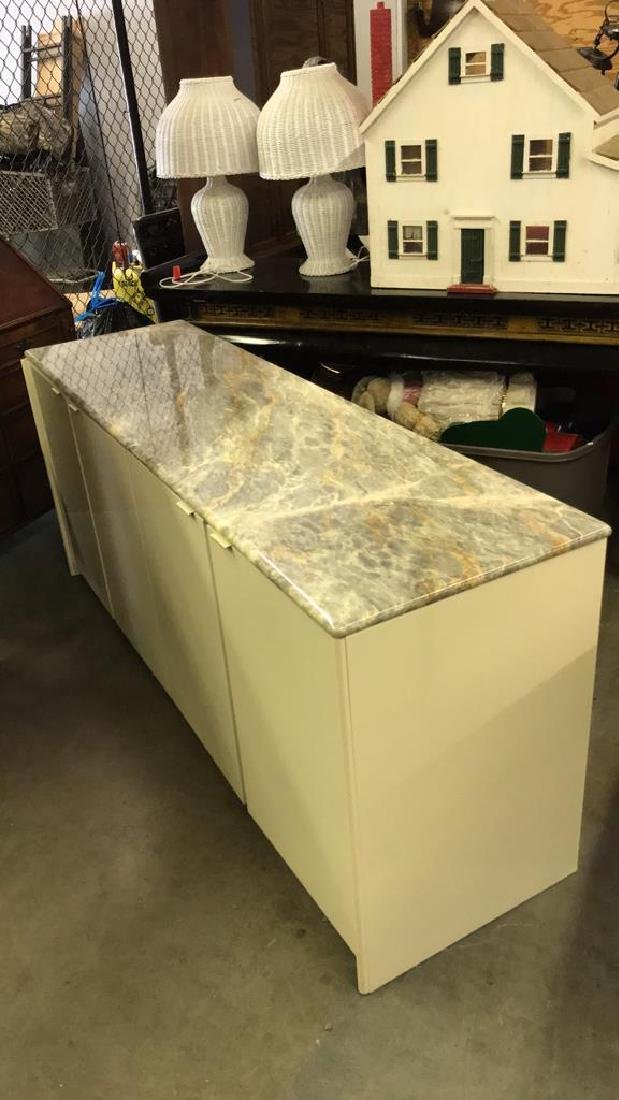 Maurice Villency Marble Counter Top Cabinet - 8