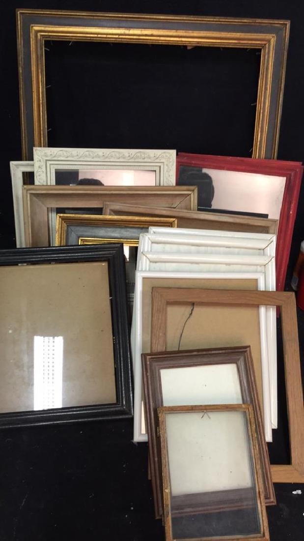 lot 16 Assorted Picture Frames