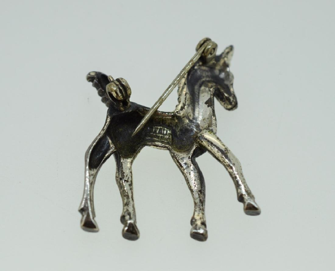 Sterling Silver Pony Pin - 2