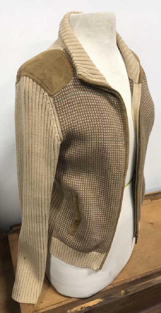 Ralph Lauren Petite Zip Up Sweater
