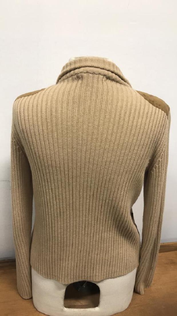 Ralph Lauren Petite Zip Up Sweater - 5