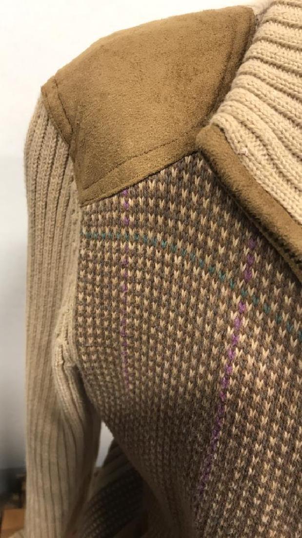 Ralph Lauren Petite Zip Up Sweater - 8