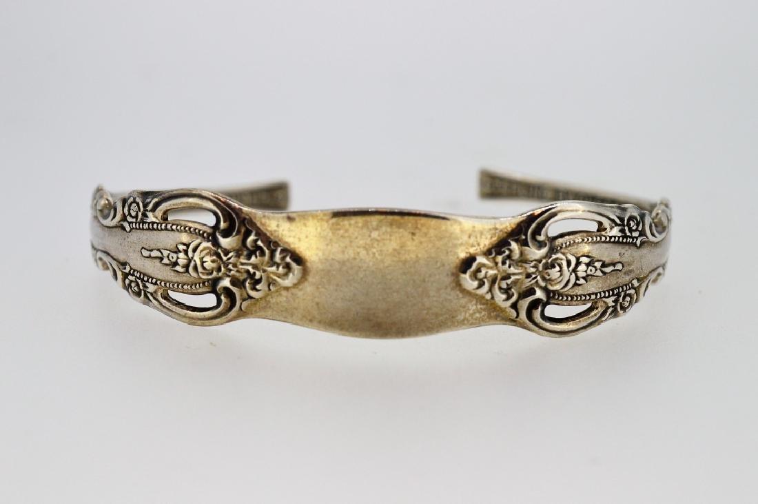 """6"""" Oneida Sterling Silver Cuff Bracelet"""