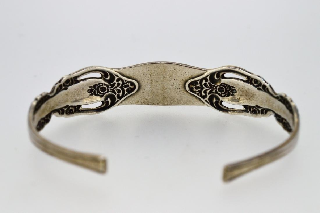 """6"""" Oneida Sterling Silver Cuff Bracelet - 2"""