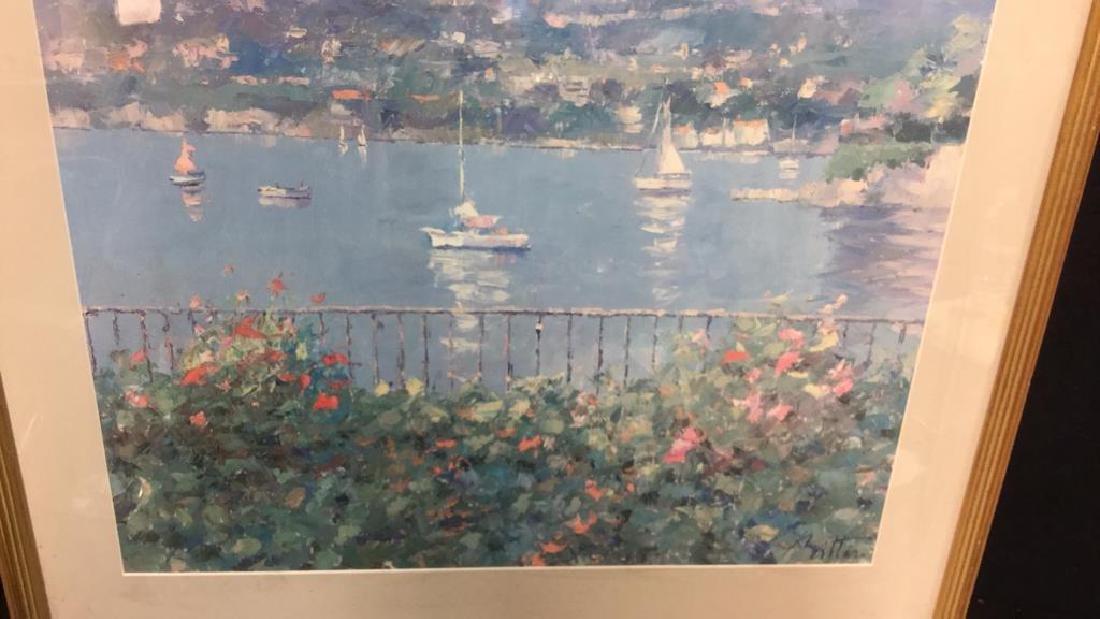 Framed Matted Bermuda Harbor Print, RITTER - 7