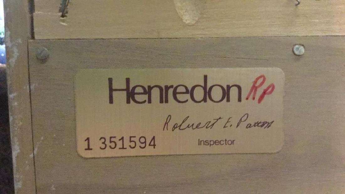 HENREDON Cream Toned Console Cabinet - 10