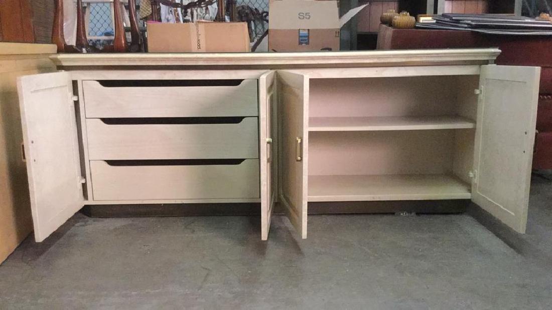 HENREDON Cream Toned Console Cabinet - 2