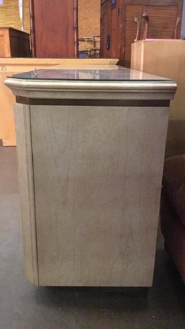 HENREDON Cream Toned Console Cabinet - 6