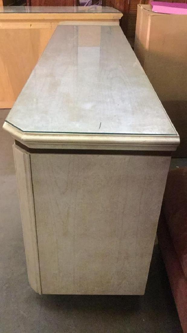 HENREDON Cream Toned Console Cabinet - 7