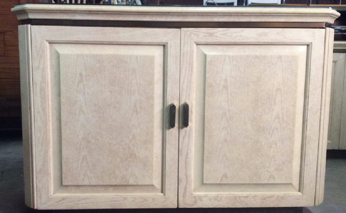 HENREDON Cream Toned Counter Bar-top - 2