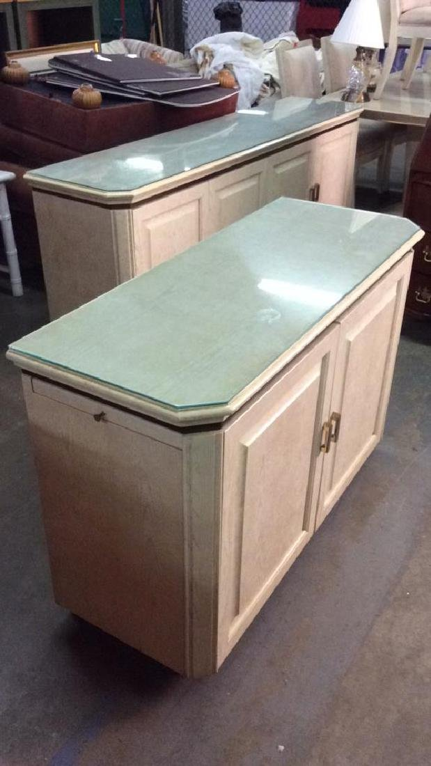 HENREDON Cream Toned Counter Bar-top - 7