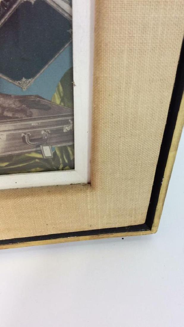 Framed Mixed Media Collage Art - 9