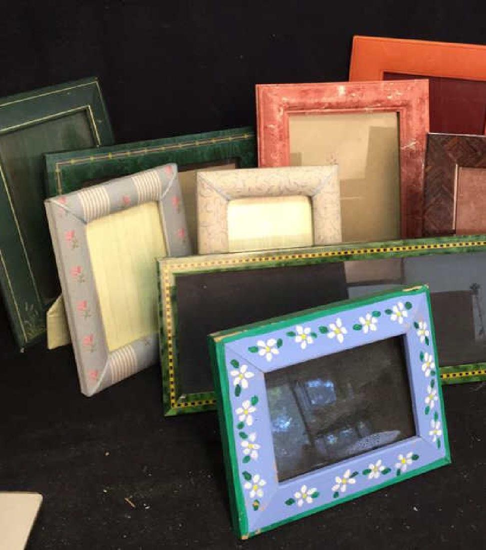 Lot 9 Assorted Picture Frames