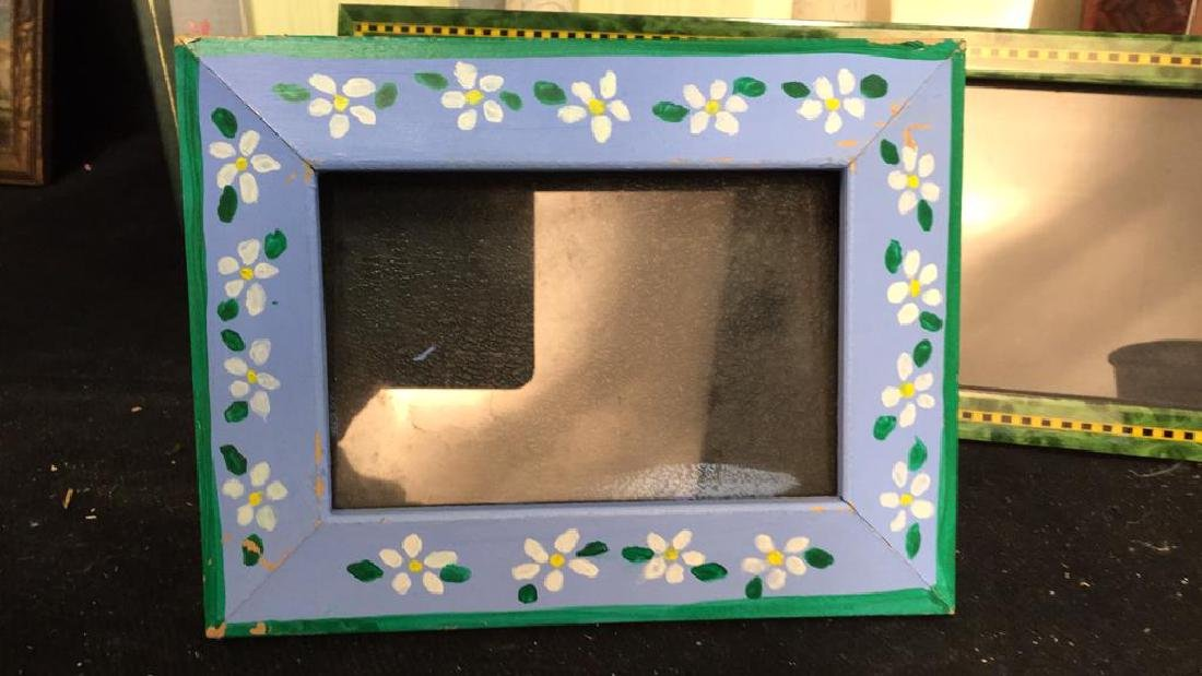 Lot 9 Assorted Picture Frames - 2
