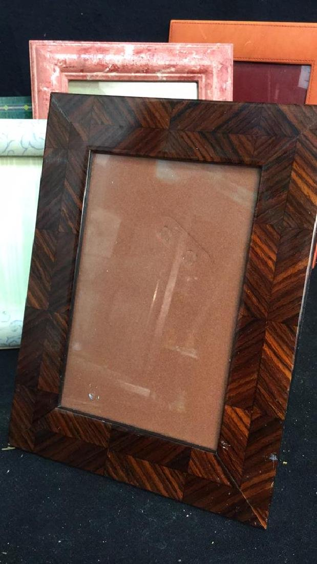 Lot 9 Assorted Picture Frames - 4