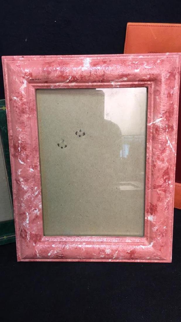 Lot 9 Assorted Picture Frames - 5