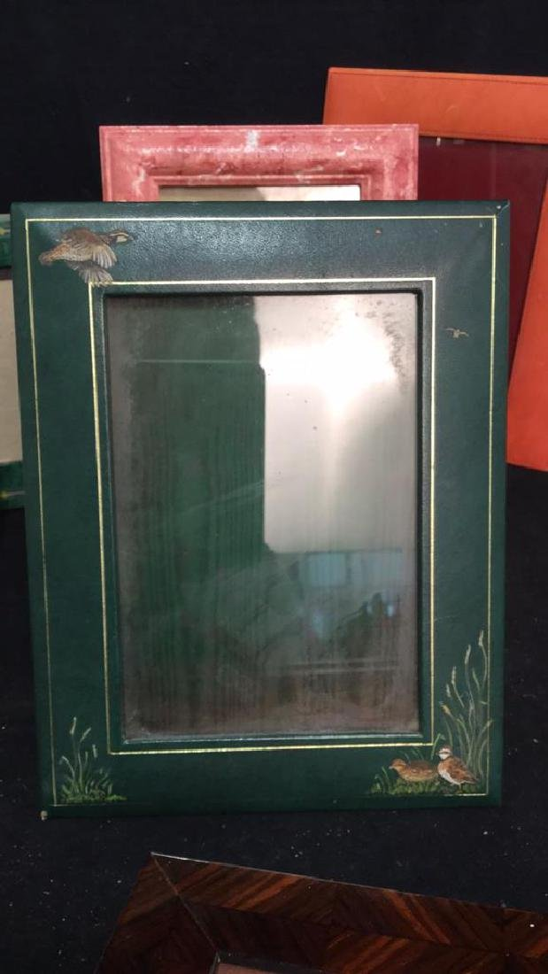 Lot 9 Assorted Picture Frames - 6