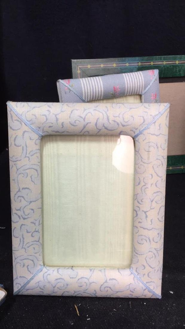 Lot 9 Assorted Picture Frames - 8