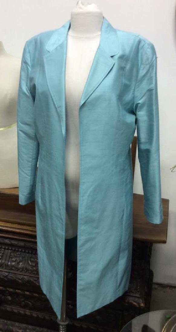 JANE SEYMOUR Silk 3/4 Length Jacket - 2
