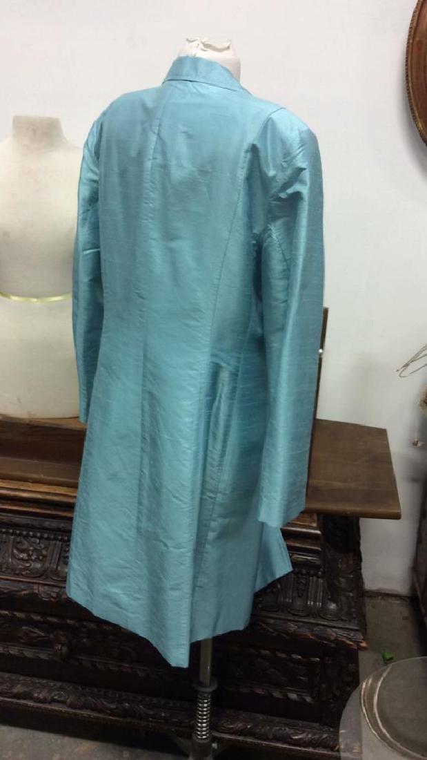 JANE SEYMOUR Silk 3/4 Length Jacket - 3