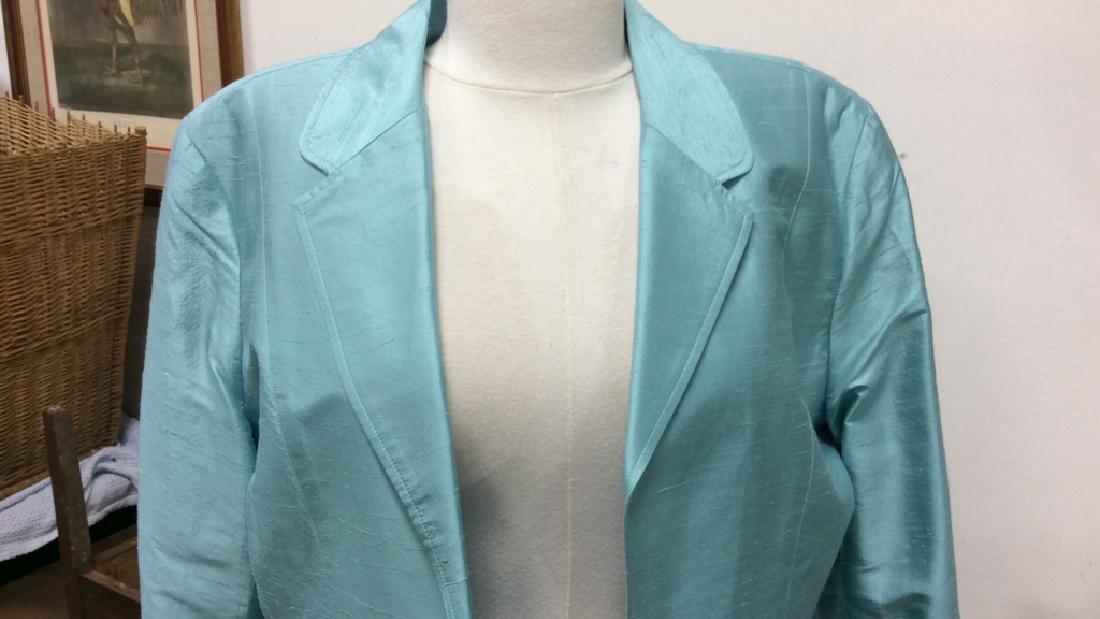 JANE SEYMOUR Silk 3/4 Length Jacket - 4
