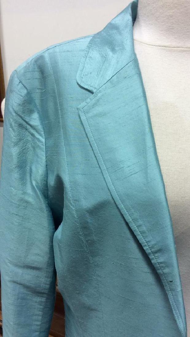 JANE SEYMOUR Silk 3/4 Length Jacket - 5
