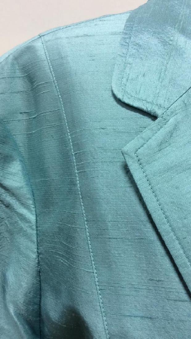 JANE SEYMOUR Silk 3/4 Length Jacket - 6