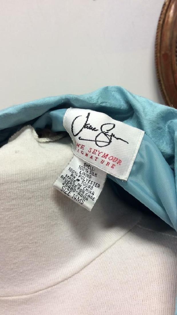 JANE SEYMOUR Silk 3/4 Length Jacket - 9
