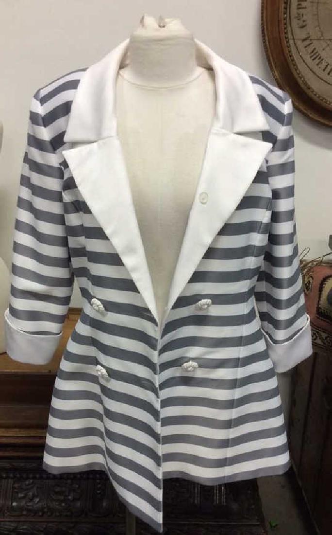 KAREN LORRANCE Polyester Fully Lined Blazer - 2