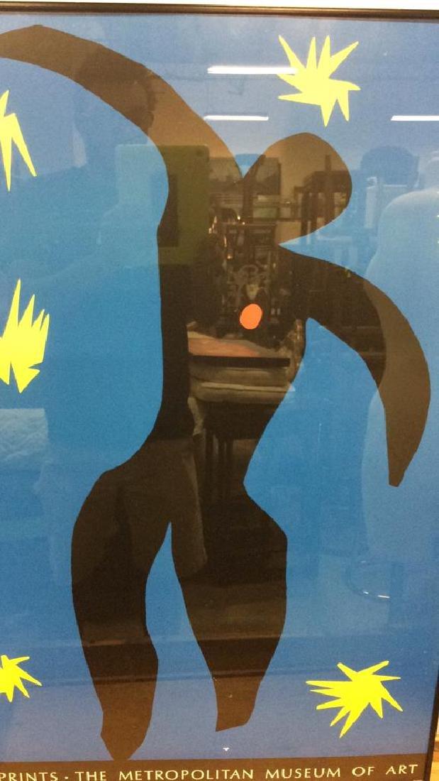 Framed Matisse Exhibition Poster Print Artwork - 5