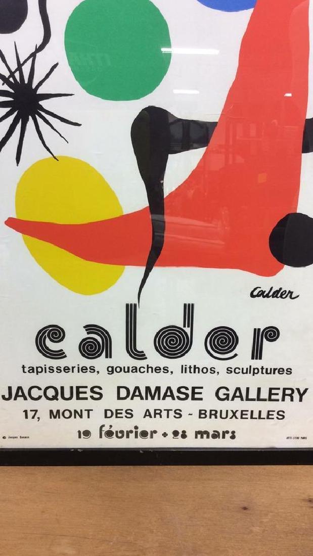 Calder Exhibition Poster Print Artwork - 2