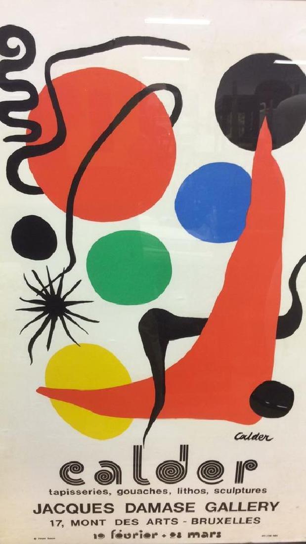 Calder Exhibition Poster Print Artwork - 3