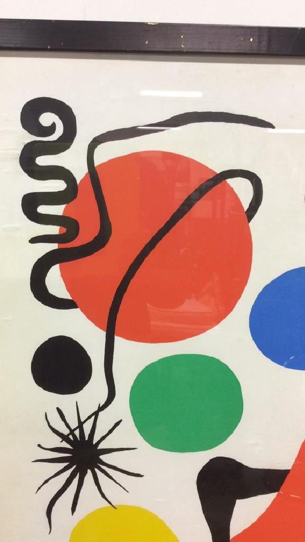Calder Exhibition Poster Print Artwork - 6