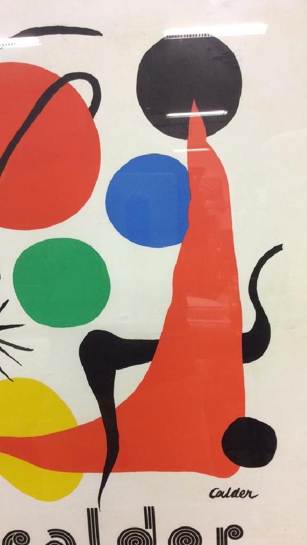 Calder Exhibition Poster Print Artwork - 7