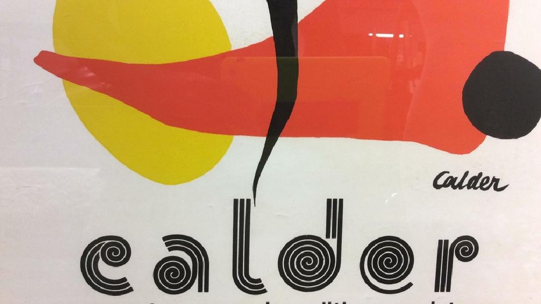 Calder Exhibition Poster Print Artwork - 8