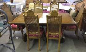 VELERO BY DREXEL Dining Table  6 Chairs
