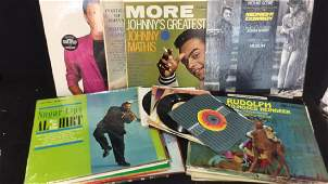 Lot 40 Mixed Vintage Vinyl Records